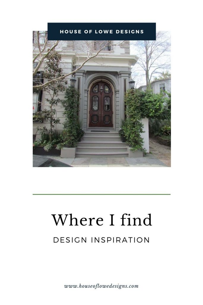 Today I'm sharing where to find design inspiration for a new project or when in need of a creative boost. Read the full post at www.houseoflowedesigns.com
