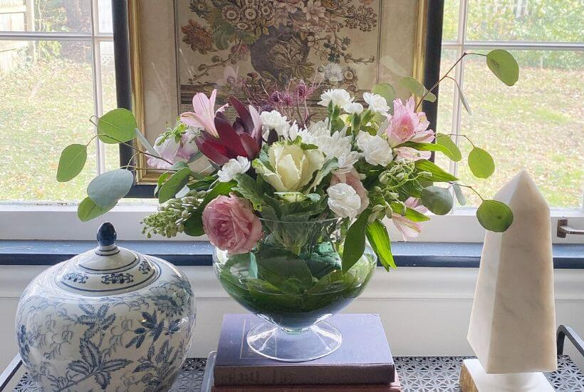 Adding beautiful flowers to your everyday decor can bring joy and happiness to your home