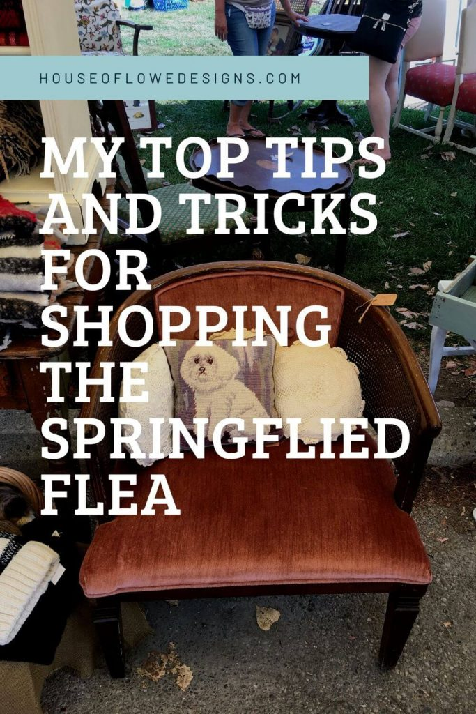 My top tips and tricks for shopping at the Springfield flea market. Continue reading this blog post on houseoflowedesigns.com