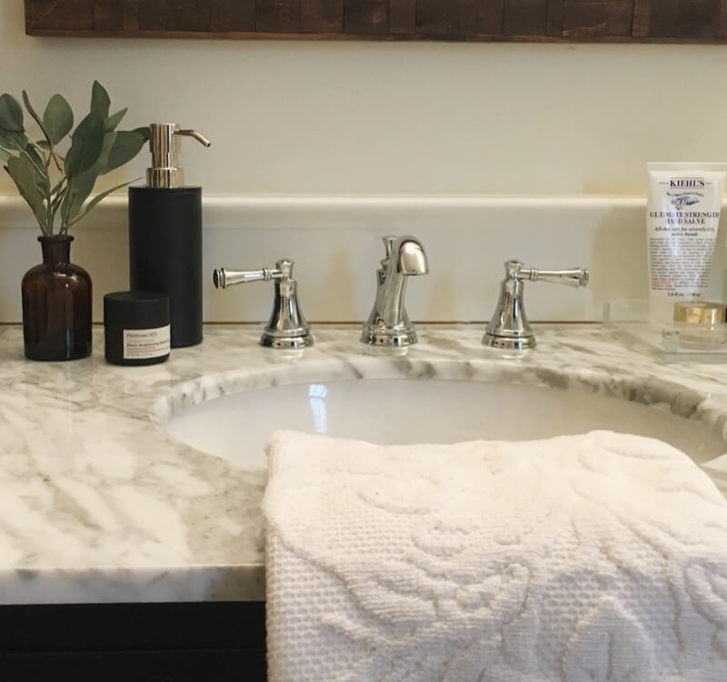 A vanity is one of the most functional pieces in a bathroom. There are lots of things to consider when you start the search for a vanity for your remodel.