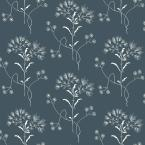 56 sq.ft. Wildflower Wallpaper