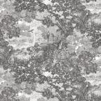 28.29 sq. ft. Jungle Toile Peel and Stick Wallpaper