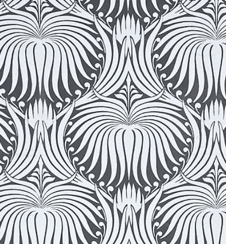 Farrow and Ball Lotus Wallpaper from Anthropologie