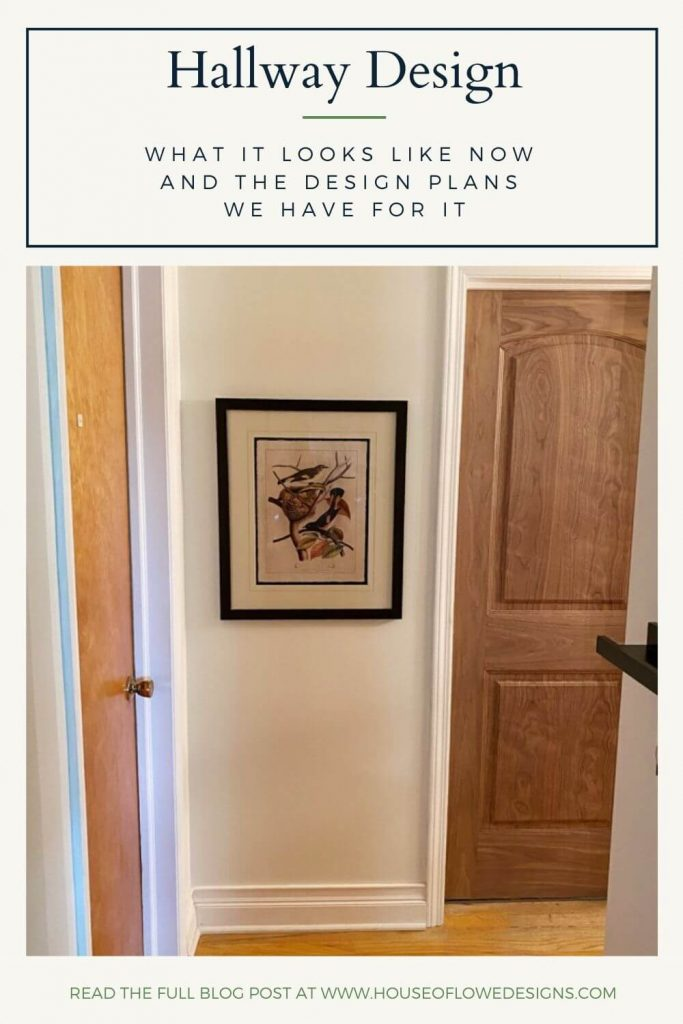 I'm sharing a look at our current second-floor hallway and the goals I have for completing the space. Read the full post at www.houseoflowedesigns.com.