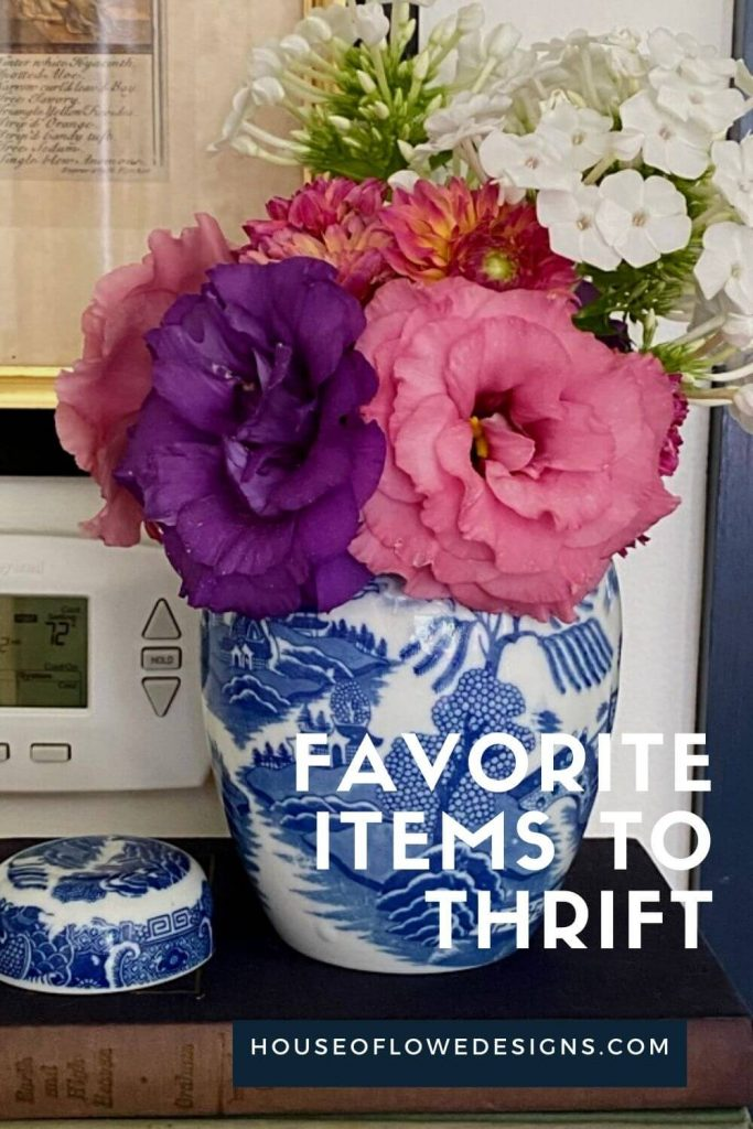 On the blog today, I'm sharing some of my favorite thrift store home decor items to shop for plus some of my recent finds!