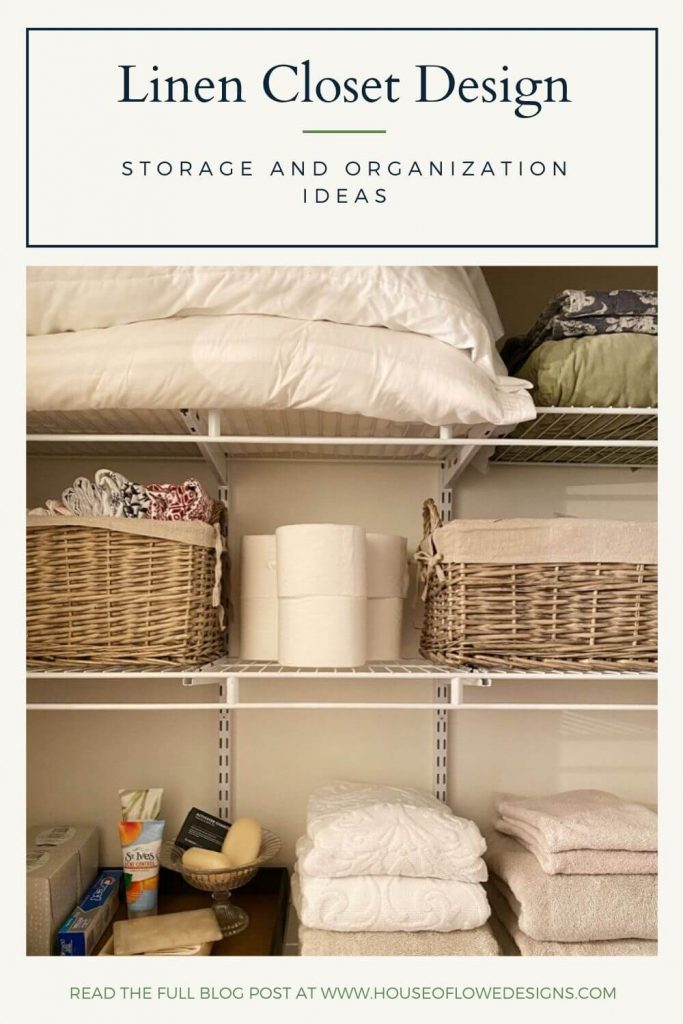 On the hunt for storage ideas for your linen closet? I'm talking about my favorite ways to store, corral, and organize items in linen closets.
