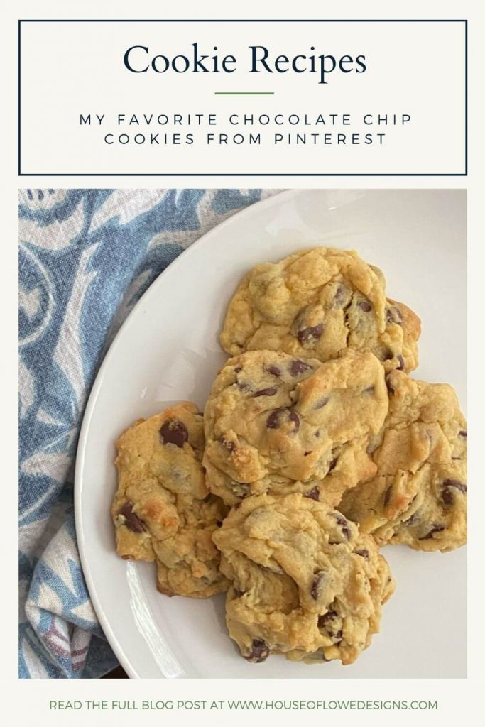 I'm on a quest to find the BEST chocolate chip cookie recipes out there. I'm sharing some of my favorites from Pinterest today on the blog.