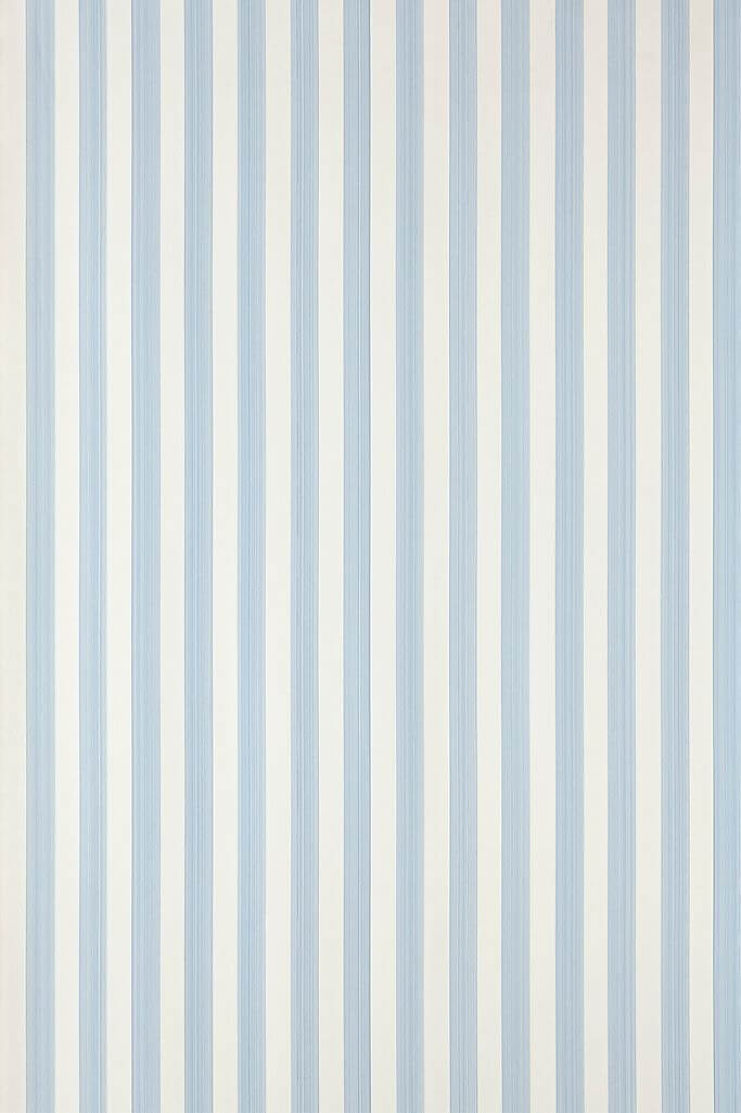 Closet Stripe Wallpaper by Farrow and Ball