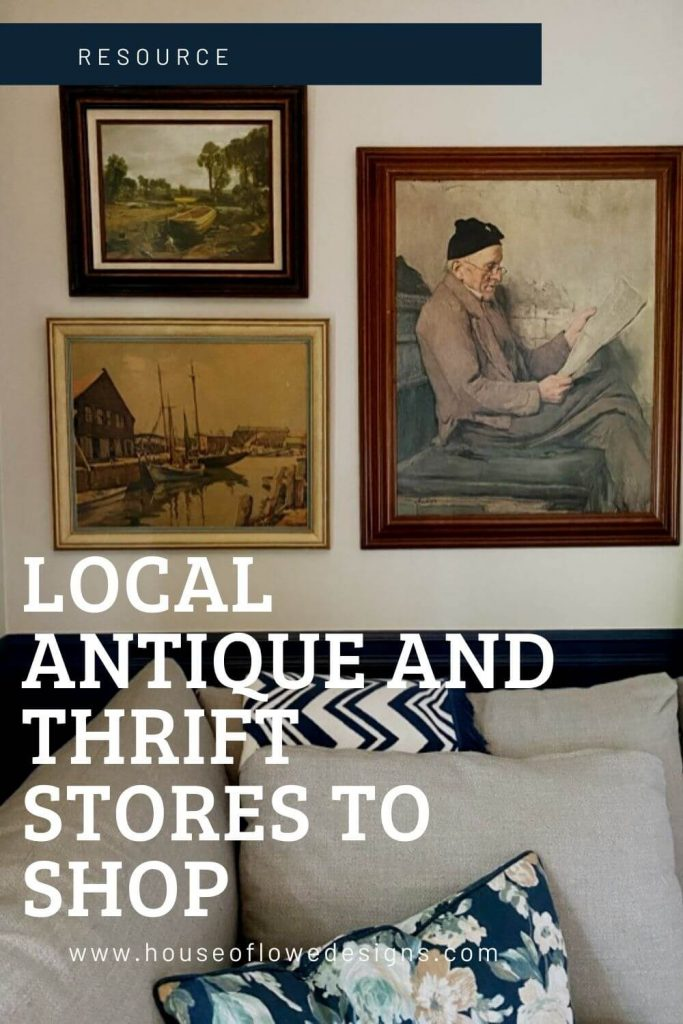 Sharing my favorite local antique and thrift stores on the blog. Find them in Akron, Cleveland, Columbus, and the surrounding areas.