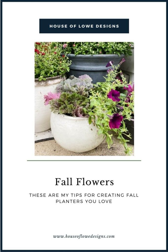 Today, I'm sharing my tips for creating beautiful fall planters for your front porch. Transitioning your home from summer to fall.