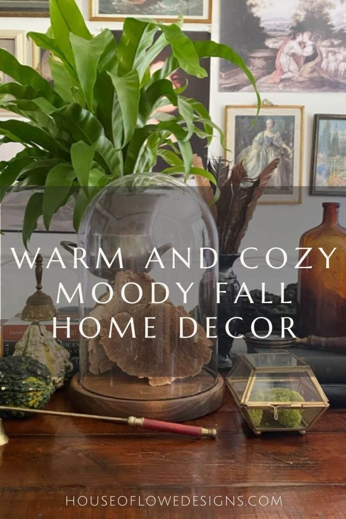 Today, I'm sharing my favorite fall home decor to create that moody vibe and ways to keep the look cozy and inviting in your space.