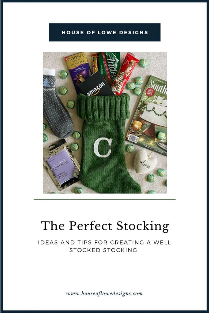 Looking for stocking stuffer ideas? I'm sharing my formula for creating a perfectly filled stocking. What to add and how to keep it personal.