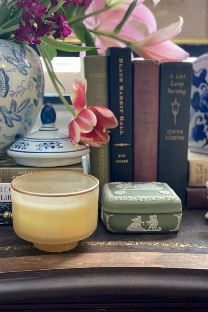 A curated collection of thrifted finds and antiques