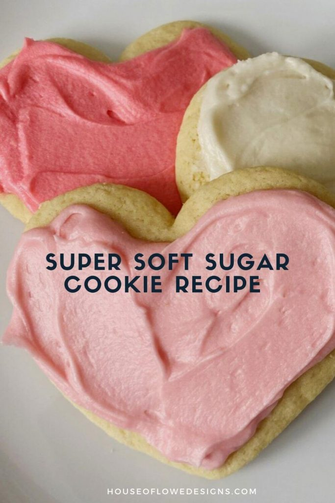 Today, I'm sharing our family recipe for the BEST sugar cookies around. They are super soft and slightly sweet. Perfect for the holidays.