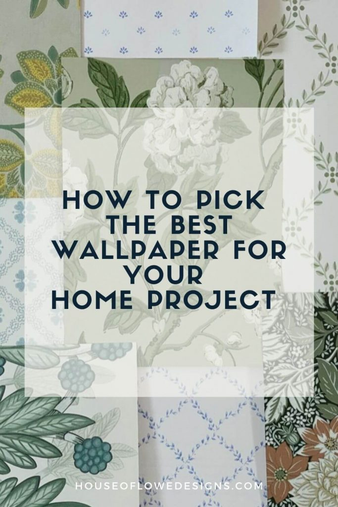 Wallpaper has been making a major comeback these past few years.I'm sharing my tips for how to pick the right wallpaper for your home.