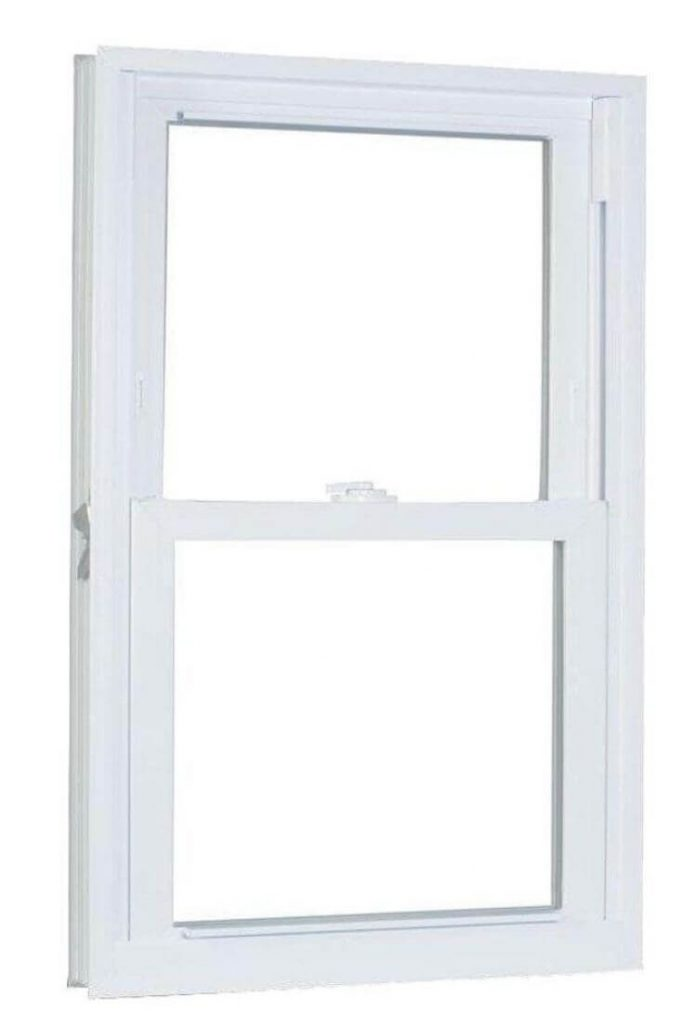 Double Hung White Window