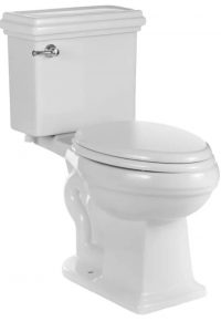 Traditional Looking White Toilet