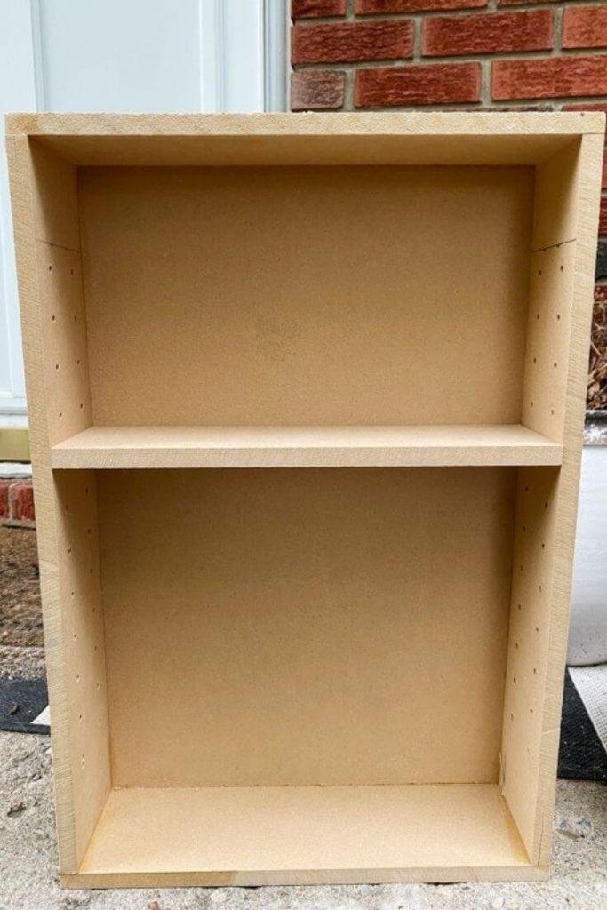 DIY MDF Medicine Cabinet